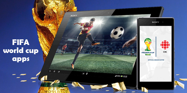 FIFA world cup apps for your Android smartphone