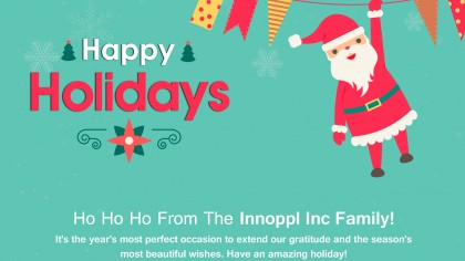 Happy Holidays From Innoppl Inc