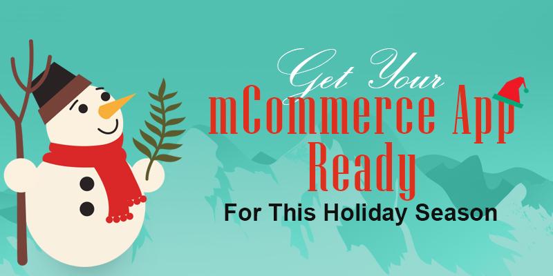mCommerce App Infographics