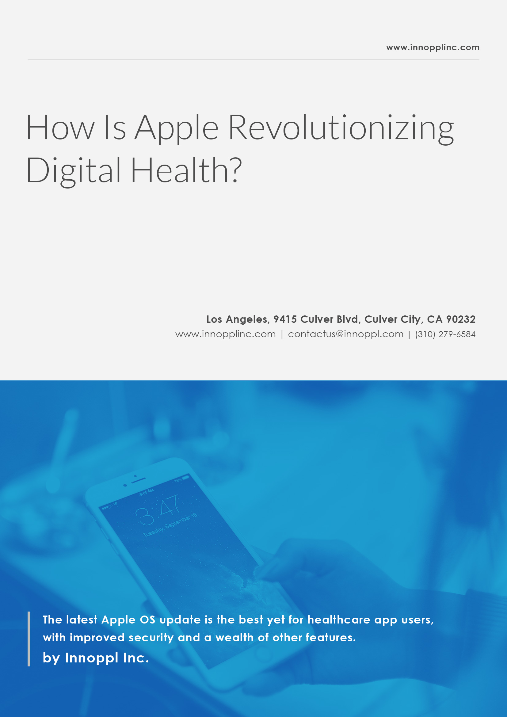 How Is Apple Revolutionizing Digital Health