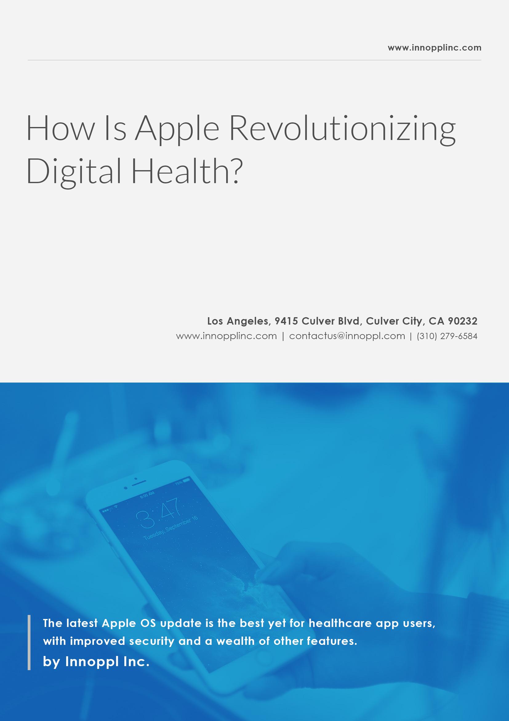 How Is Apple Revolutionizing Digital Health